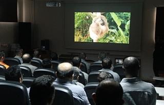 LTB'nin sunduğu 6.KAFF'de mahkumlara film gösterildi