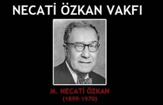 Necati Özkan Vakfı başarı ödülleri veriliyor