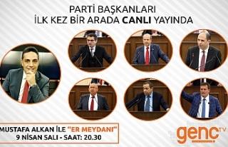 Parti Başkanları ilk kez birarada canlı yayında