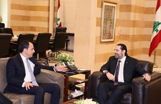 Rum Bakanın Lübnan temasları sürüyor