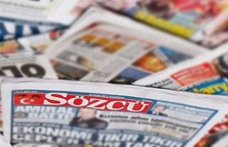 Sözcü gazetesi yazarlarının yargılandığı davada...