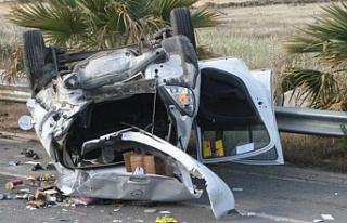 Sürat ve Girne, trafik kazalarında  ilk sırada