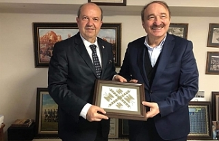 UBP Genel Başkanı Tatar Trabzon'da
