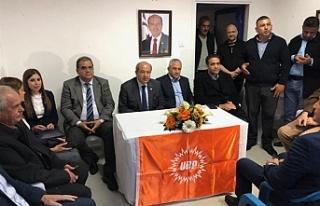UBP Lefkoşa –Kızılay Bölgesi yeni örgüt binası...