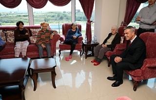 Uluçay, Kalkanlı Yaşam Evi'ni ziyaret etti