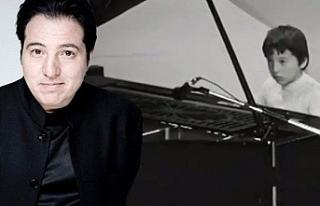 Ünlü Piyanist Fazıl Say, 8 yaşında verdiği konserle...