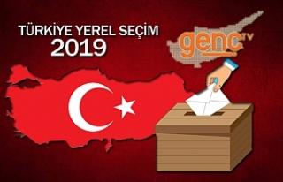 Yerel seçimde en yüksek oyu AK Parti aldı