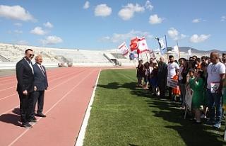 1. Özel Atletizm Oyunları'nın açılış töreni...