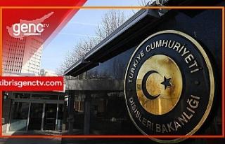 """ABD'nin """"Fatih"""" açıklamasına Türkiye..."""