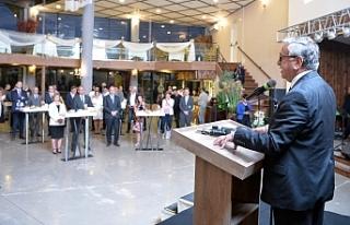 Akıncı, Gazeteciler Birliği etkinliğine katıldı