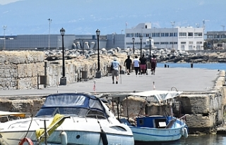 Antik Liman'da acil işler giderildi