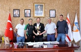 Aygün Spor Kulübü, Sadıkoğlu'nu ziyaret etti