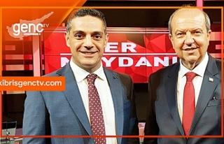 Başbakan, ilk canlı yayın programında Genç TV'de...