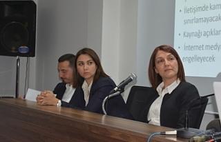 Basın Özgürlüğü Paneli yapıldı