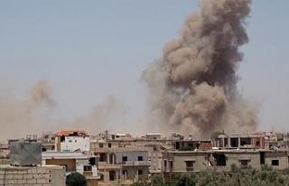 BM'den İdlib'e yönelik hava saldırıları 'alarm...