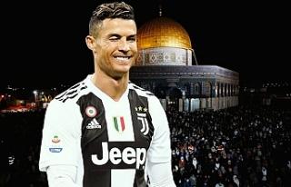 Cristiano Ronaldo'dan Filistin'e 1,5 milyon...