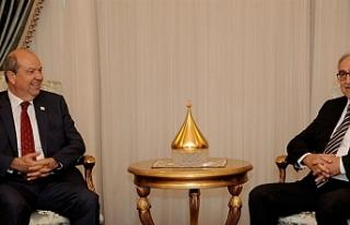 Cumhurbaşkanı Mustafa Akıncı, bugün UBP Başkanı...