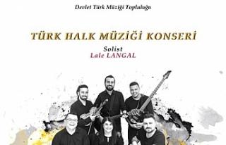 Devlet Türk Müziği Topluluğu pazartesi akşamı...
