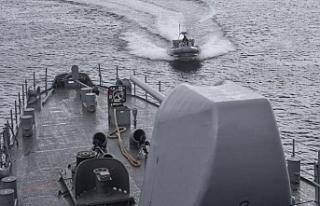 Donanmanın son dönemdeki en büyük tatbikatı başladı