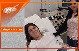 Donör Süheyla Osmanoğlu, ikinci kez yardım eli...