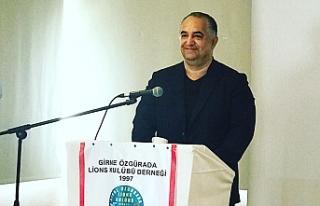 Ertan Birinci, Girne Özgür Ada Lions Kulubü'nün...