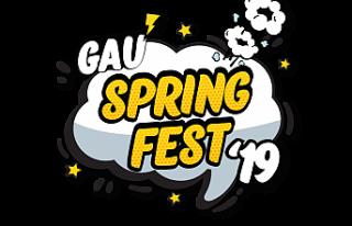 GAÜ Bahar Şenlikleri, Pazartesi başlıyor