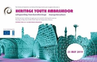 """""""Genç Kültürel Miras Elçileri"""" etkinliği..."""