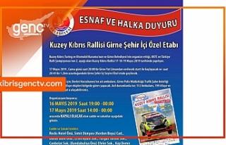 Girne'de bazı yollar trafiğe kapatılacak