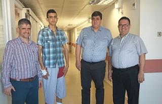 Hastanede skolyoz ameliyatları devam ediyor