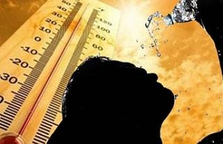 Hava sıcaklığı 38 dereceye kadar çıkacak