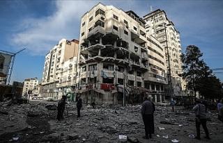 İsrail'in Gazze'ye saldırılarında şehit...