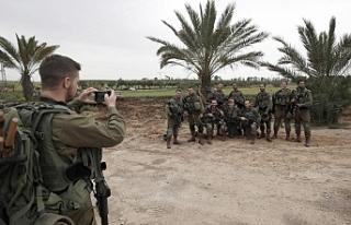 İsrail'li komandolar ile ortak tatbikat