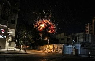 İsrail ordusu, Anadolu Ajansının olduğu binayı...