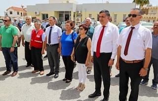 Kıbrıs Türk Kızılayı Güney Mesarya şubesi...
