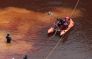 Kırmızı Göl'de kadın sütyeni bulundu