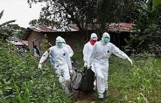 Kongo'da ebola salgınında yaşamını yitirenlerin...