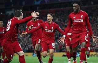Liverpool mucizeyi gerçekleştirdi