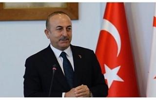 Mevlüt Çavuşoğlu KKTC'de temaslarda bulunuyor