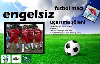 Özel gereksinimli gençler Milletvekilleri ile futbol...