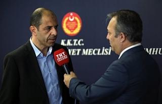 """Özersay: """" Türkiye ile birlikte izleyici konumuna..."""
