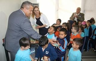 Polatpaşa İlkokulu öğrencileri Gazimağusa Belediyesi'nde