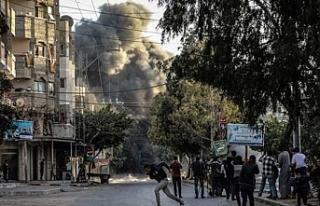 Saldırılarda şehit olan Filistinlerin sayısı...