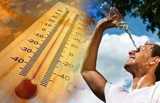 Sıcak hava etkili olmaya devam ediyor