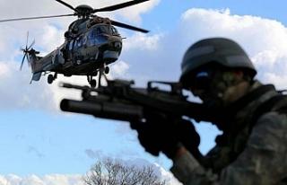 Şırnak'ta hava destekli operasyon: En az 2 terörist...