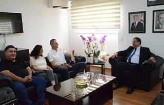 Sucuoğlu, Buran Atakan başkanlığındaki Kamu Emekçileri...
