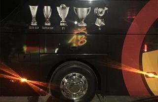 Takım otobüsüne geçici çözüm
