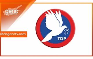 TDP Parti Meclisi sonrası açıklama