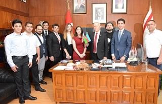 Töre, Azerbaycan Milletvekilini kabul etti