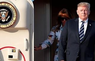 Trump, Japonya'da