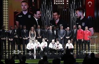 Türkiye'de futbolun süperleri belli oldu